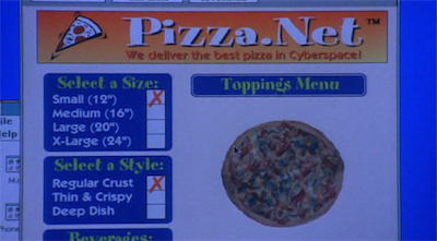 Best pizza in cyberspace