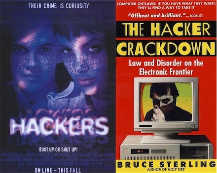 Hacker Crackdow and Hackers Poster