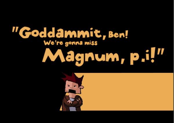 Time gentleman, please!